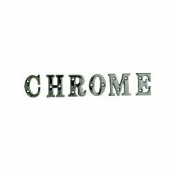 Letters & Cijfers Chroom...