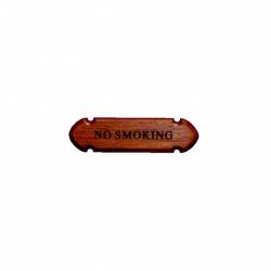 """Naambord mini """"NO SMOKING"""""""